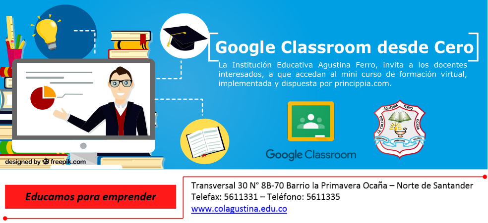 Invitación a Mini Curso Virtual de Google Classroom