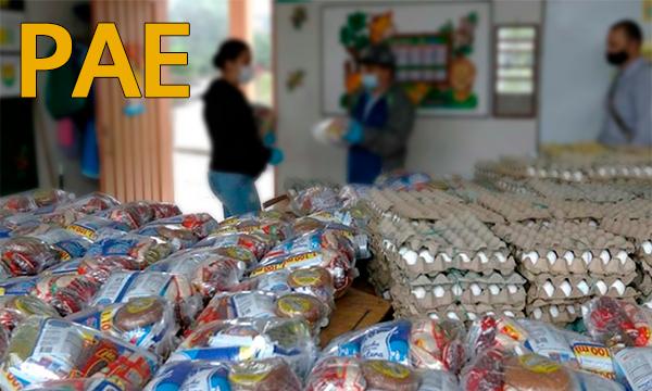 PAE anuncia nueva entrega de alimentos